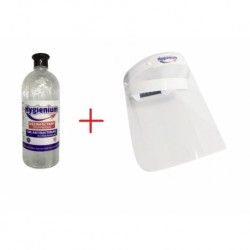 Gel dezinfectant antibacterian, Hygienium 1L